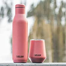 Insulated wine bottle, wine thermos, camelbak, insulated wine glass, stainless steel wine mug
