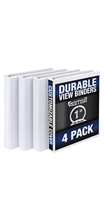 Samsill Durable Binders