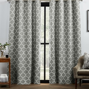 trellis curtains, room darkening blackout curtains, 84 curtains, 63 curtains, thermal insulated