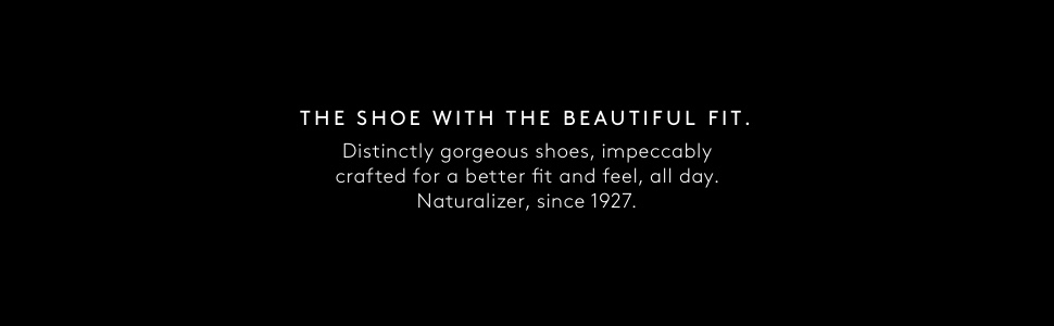 Shoe with beautiful fit