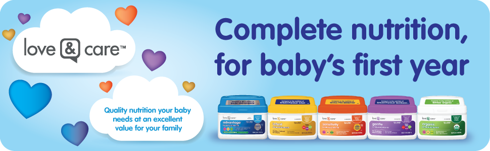 complete nutrition for baby's first year