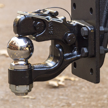 CURT Pintle Hitch Ball Combination Finish