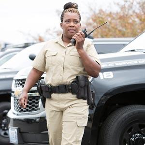 Officer in Summerweight Uniform