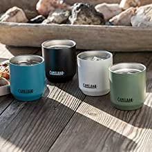 camelbak, insulated cup, stainless steel cocktail glass, cocktail glass with lid, rock tumbler
