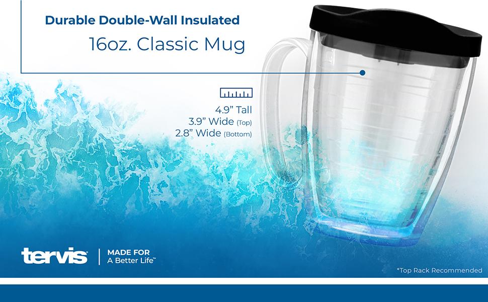 16 oz classic mug Tervis