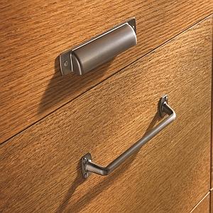 graphite edge pull,graphite cabinet pull,edge pull,modern hardware