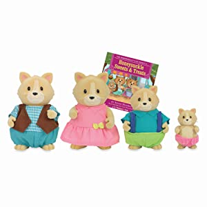 animal toys calico critters family house sylvanian families mini figurines lil woodzeez accessories