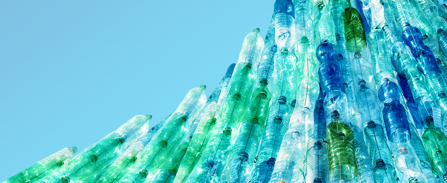 HP reduces waste worldwide by recycling post-consumer plastics.