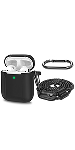 AirPods Case with Carabiner and Neck