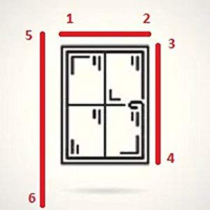 Window Measure Curtain Guide