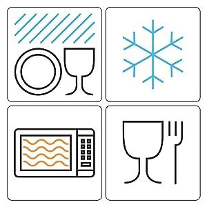 freezer safe, safe for freezer, dishwasher safe, safe for dishwasher, microwave safe, food safe, hot