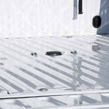 CURT Double Lock Gooseneck Hitch Flip and Store Ball