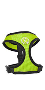 Gooby soft mesh small dog harness