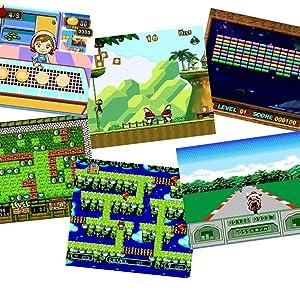 JG7800 games screenshots