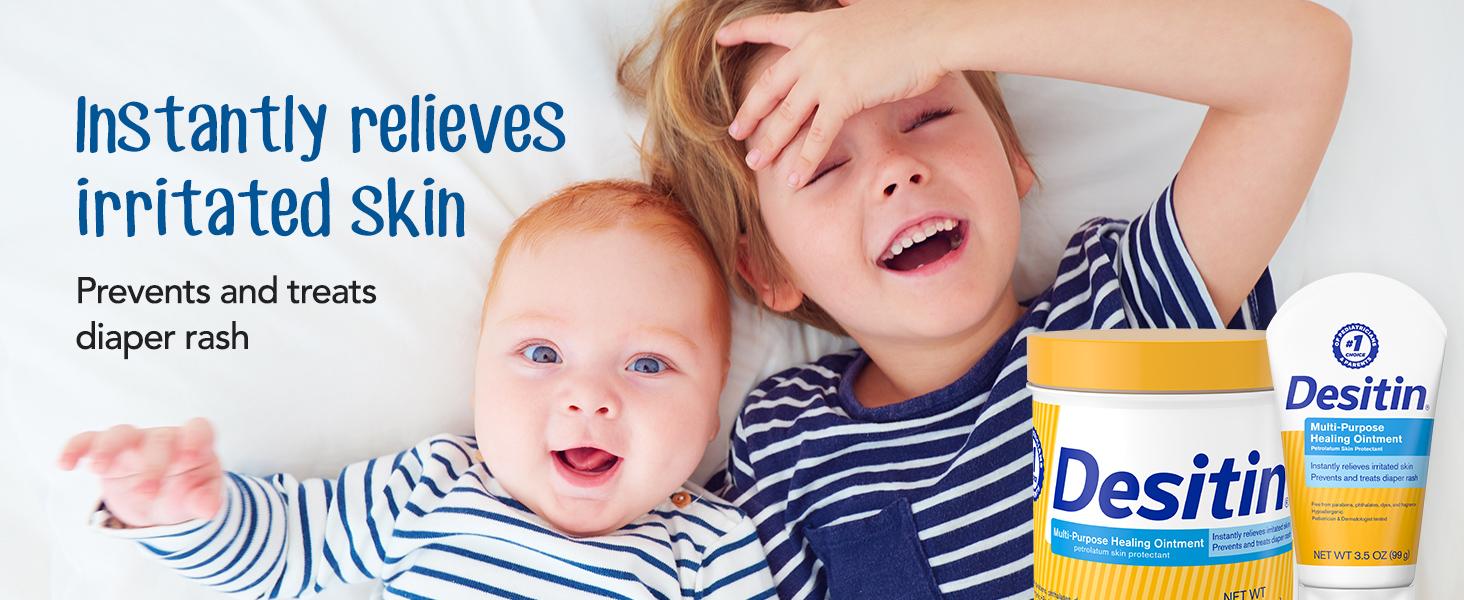 Desitin Prevents and Treats Diaper Rash
