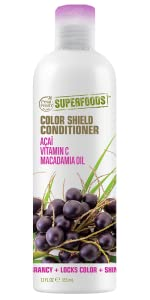 color shield, color treated hair, superfoods