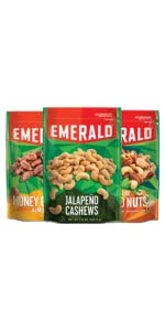 nuts, cashews, emerald nuts, jalapeno nuts, spicy nuts
