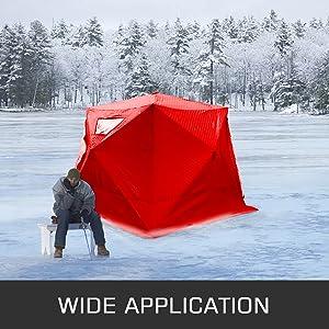 ice fishing shelters ice fishing shelter ice shelter ice clam shelter goplus portable ice shelter