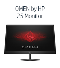 OMEN by HP 25 Monitor