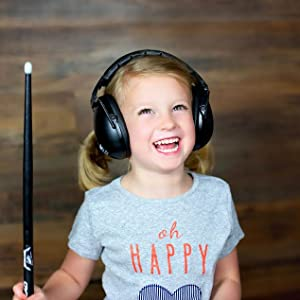 Music lessons and drum practice get loud, stay safe!