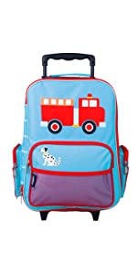 wildkin heroes rolling suitcase