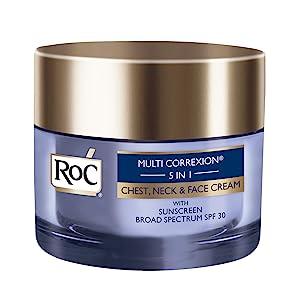 RoC Multi Correxion 5 in 1 Anti-Aging Chest, Neck and Face Cream with SPF 30, Moisturizing Cream