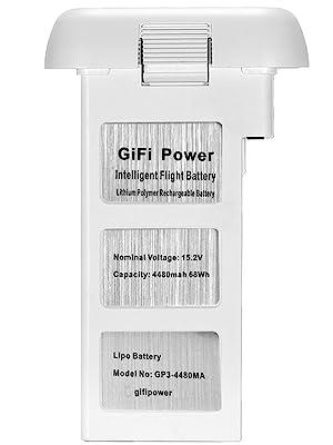 gifipower, battery, drone, dji, phantom