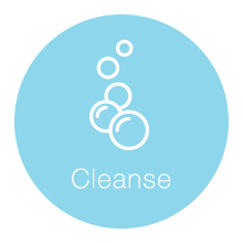 Healthy Looking Skincare Routine - Cleanse