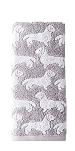 dog, dog hand towel, hand towel with dogs, skl home, skl home hand towel, dog hand towel set