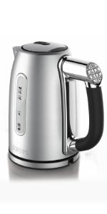 Krups, kettle, quick kettle, easy kettle, best kettle, electric kettle, stainless steel kettle