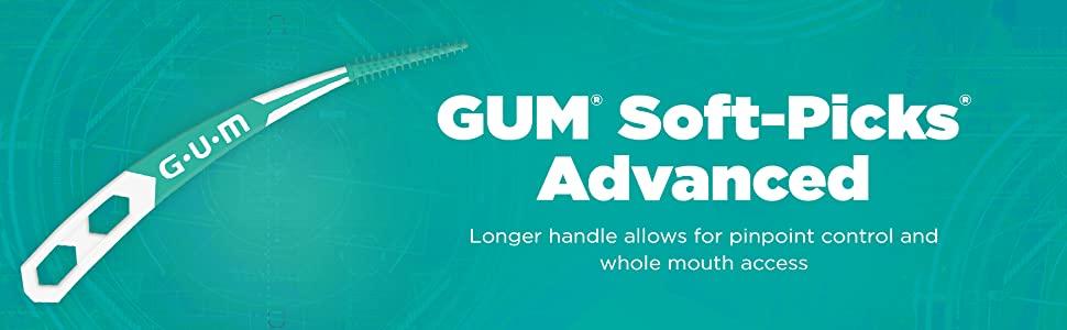 gum soft-picks advanced floss