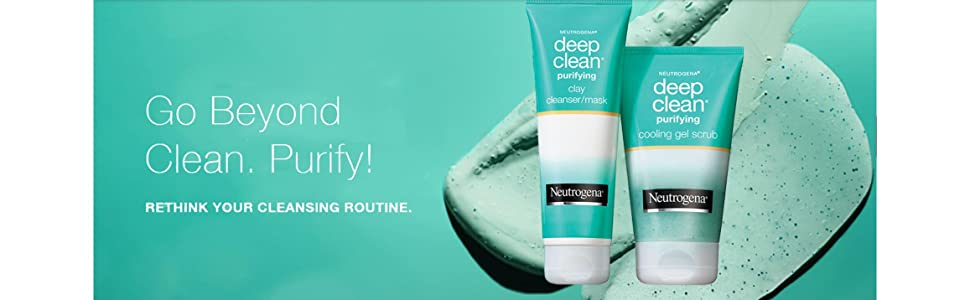Go beyond clean. Purify! Rethink your cleansing routine.
