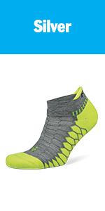 balega silver running socks