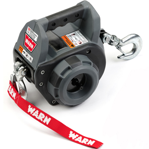 warn 750 pound pulling capacity drill winch