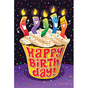 birthday;happy birthday;cup cake;cake;treat;sweet;dessert;frosting;frosted;sprinkles;confetti