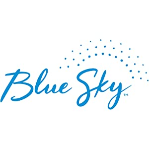 blue sky logo, weekly and monthly planners, unique formats, beautiful covers, multiple collections
