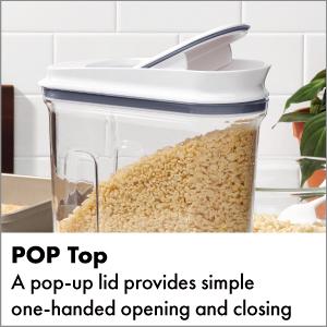 Good Grips 3 Piece Airtight POP Cereal Dispenser Set