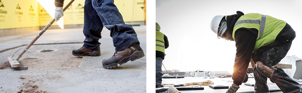 KEEN Utility work boot construction maintenance slip resistant waterproof 90 degree heel int met