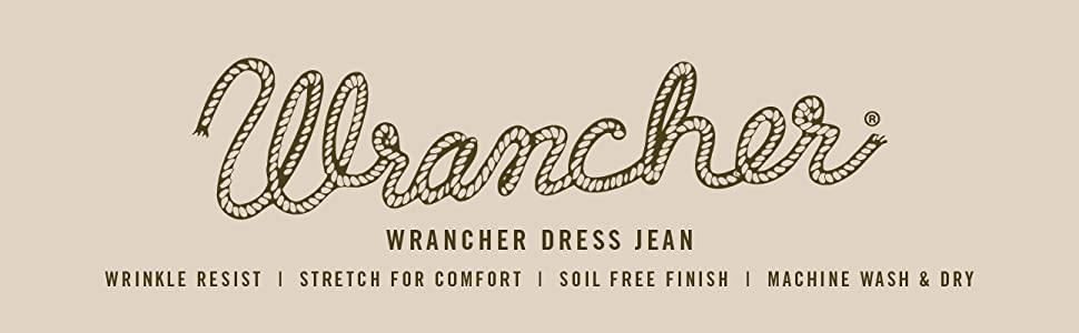 Wrancher Dress Jean