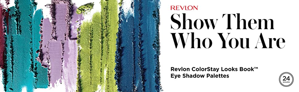 Revlon ColorStay Look Book Eyeshadow Palette - Eye Makeup in Matte, Satin, Shimmer & Metallic Finish