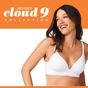 warner's bras, wire free bra, wireless bra, women's bras