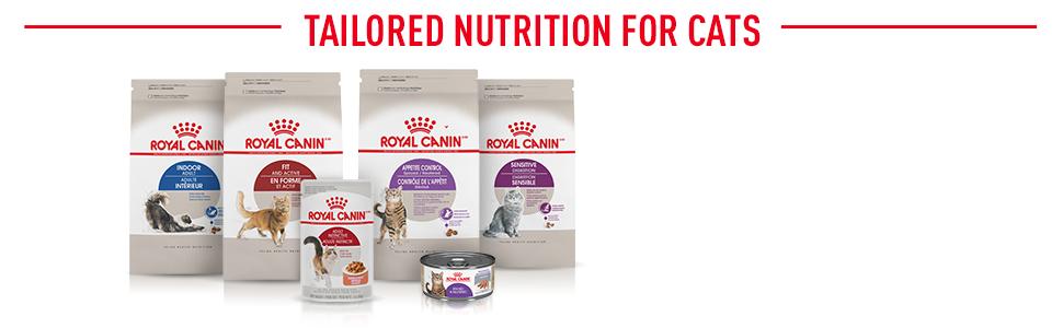 Royal Canin Feline Health Range - Tailored Nutrition for Cats
