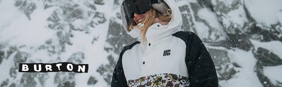 burton outerwear jacket for women womens jacket coat winter mountain resort snow skiing ski ride