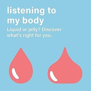 Listening to my body