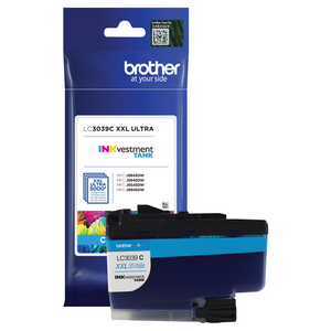 ink; cartridge; printer;refill; tank;system; inkvestment; cyan; genuine; high; yield; LC3039C; ultra