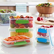 Sistema Klip It Modular, stacking containers save space in your kitchen.