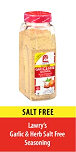 Garlic and Herb Salt Free Seasoning