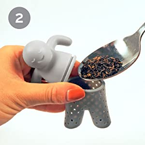 tea, tea infuser, mr., mister, pants, man, silicone, fred, cute, fred and friends, gift