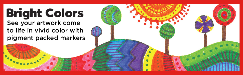 coloring markers, markers, markers for kids, school supplies, markers for school, magic markers