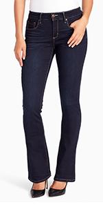 vintage america blues wonderland micro boot cut denim jeans